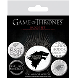 Brosche Game of Thrones (Game of Thrones) - Winter is Coming