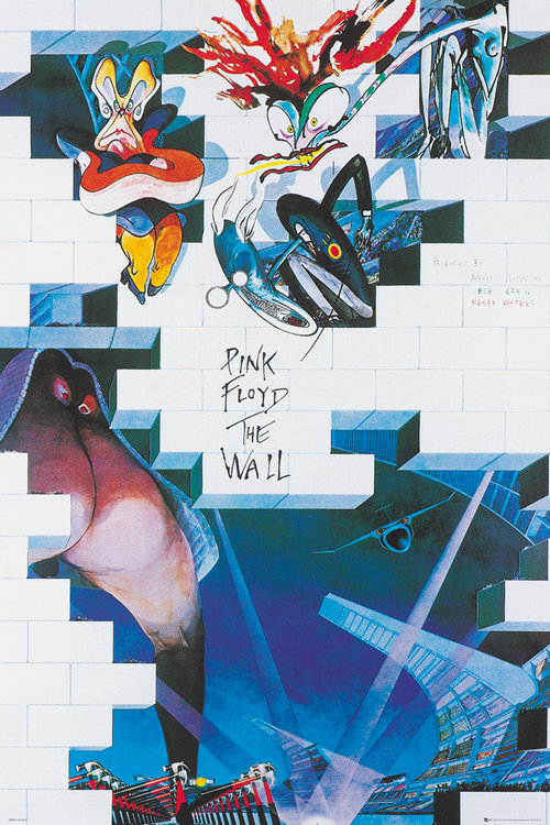 Poster Pink Floyd The Wall