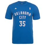 T-Shirt Oklahoma City Thunder (Blau)