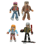 Zurück in die Zukunft Minimates Actionfiguren 5 cm 30th Anniversary Hill Valley Box Set