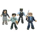 Gotham Minimates Actionfiguren 5 cm Serie 1 Box Set