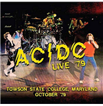 Vinyl Ac/Dc - Live '79 - Towson State College, Maryland October '79 (2 Lp) 180gr