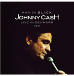 "Vinyl Johnny Cash - Man In Black Live In Demark 1971 (2 12"")"