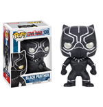 Captain America Civil War POP! Vinyl Wackelkopf Black Panther 10 cm