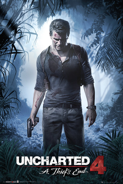 Poster Uncharted 4 A Thiefs End