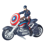 Captain America Civil War Marvel Legends Actionfigur mit Fahrzeug 2016 Captain America 10 cm
