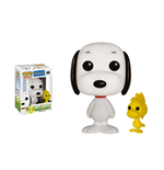 Peanuts POP! Animation Vinyl Figur Snoopy & Woodstock 9 cm