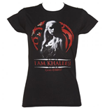 T-Shirt Game of Thrones (Game of Thrones) - I Am Khaleesi