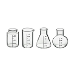 Glas Science Lab Shot Glass Set