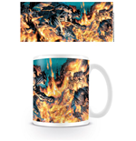Batman Tasse Flames