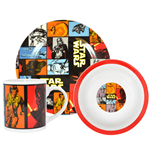 Star Wars Episode VII Frühstücks-Set The Force Awakens Retro