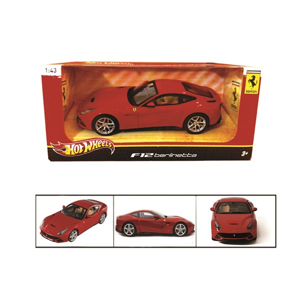 Modellauto 1:43 F12  Berlinetta Red