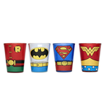 Glas Superhelden DC Comics
