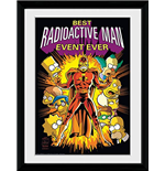 Kunstdruck Die Simpsons - Radioactive Man.