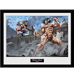 Kunstdruck Attack on Titan - Titan Fight 0 30 x 40 cm.