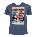 T-Shirt Captain America Culmination