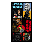 Star Wars Handtuch Characters 140 x 70 cm