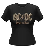 T-Shirt AC/DC Rock of Bust