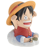 One Piece Spardose Luffy 10 cm