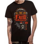 T-Shirt All Time Low  201658