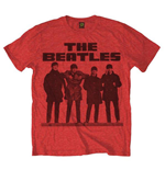 T-Shirt Beatles - Long Tall Red