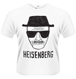 T-Shirt Breaking Bad - Heisenberg Sketch