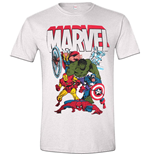 T-Shirt Marvel Superheroes