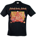 T-Shirt Black Sabbath  206461