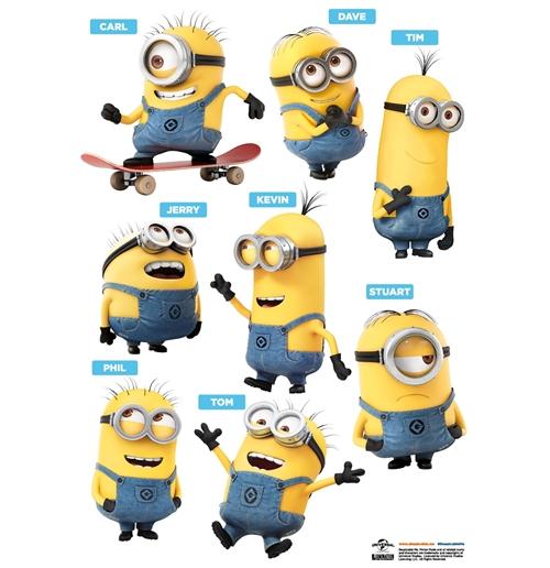 Kaufe wandtattoo ich einfach unverbesserlich minions 16 friends - Minions wandtattoo ...