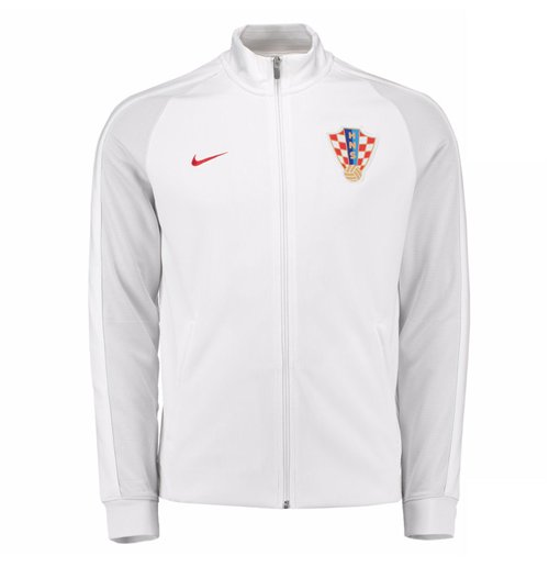 buy online 5fd4f c8650 Jacke Kroatien Fussball 2016-2017 (Weiss)