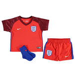 Mini Fussball Set England Fussball 2016-2017 Away Nike Baby