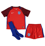 Mini England Fussball 2016-2017 Away Nike fur Kinder