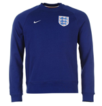 Sweatshirt England Fussball 2016-2017  Nike Authentic AW77 (Blau)