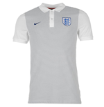 Polohemd England Fussball 2016-2017 Nike Authentic Grand Slam (Grau)