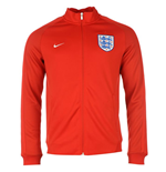 Jacke England Fussball 2016-2017 Nike Authentic N98 (Rot) - fur Kinder