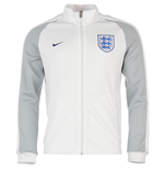 Jacke England Fussball 2016-2017 Nike Authentic N98 (Weiss) fur Kinder