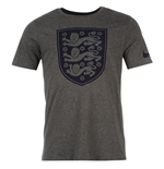 T-Shirt England Fussball 2016-2017 (Graphit)