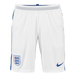 Shorts England Fussball 2016-2017 Nike Home Match  (Weiss)