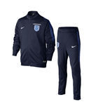 Trainingsanzug England Fussball 2016-2017 Nike Knit (blau) fur Kinder