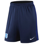 Shorts England Fussball 2016-2017 Nike Strike Knit (blau)