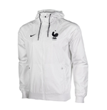 Jacke Frankreich Fussball 2016-2017 Nike Authentic Windrunner (Weiss)