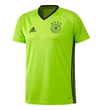 T-Shirt Deutschland Fussball 2016-2017 Adidas Players (grun)