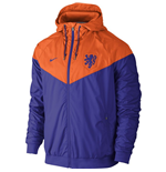 Jacke Holland Fussball 2016-2017  Nike Authentic Windrunner (Orange)