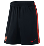 Shorts Portugal Fussball 2016-2017 Nike Strike Knit (Schwarz)