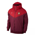 Jacke Portugal Fussball 2016-2017 Nike Authentic (Rot)