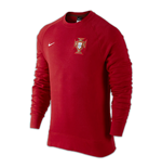 Sweatshirt Portugal Fussball 2016-2017 (Rot)