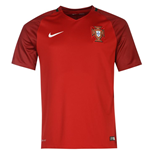 Trikot Portugal Fussball 2016-2017 Home Nike fur Kinder
