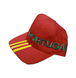 Kappe Portugal Fussball 2016-2017 Adidas 3S (Rot)