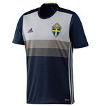 Trikot Schweden Fussball 2016-2017 Away fur Kinder