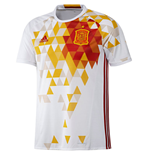 T-Shirt Spanien Fussball 2016-2017 Away